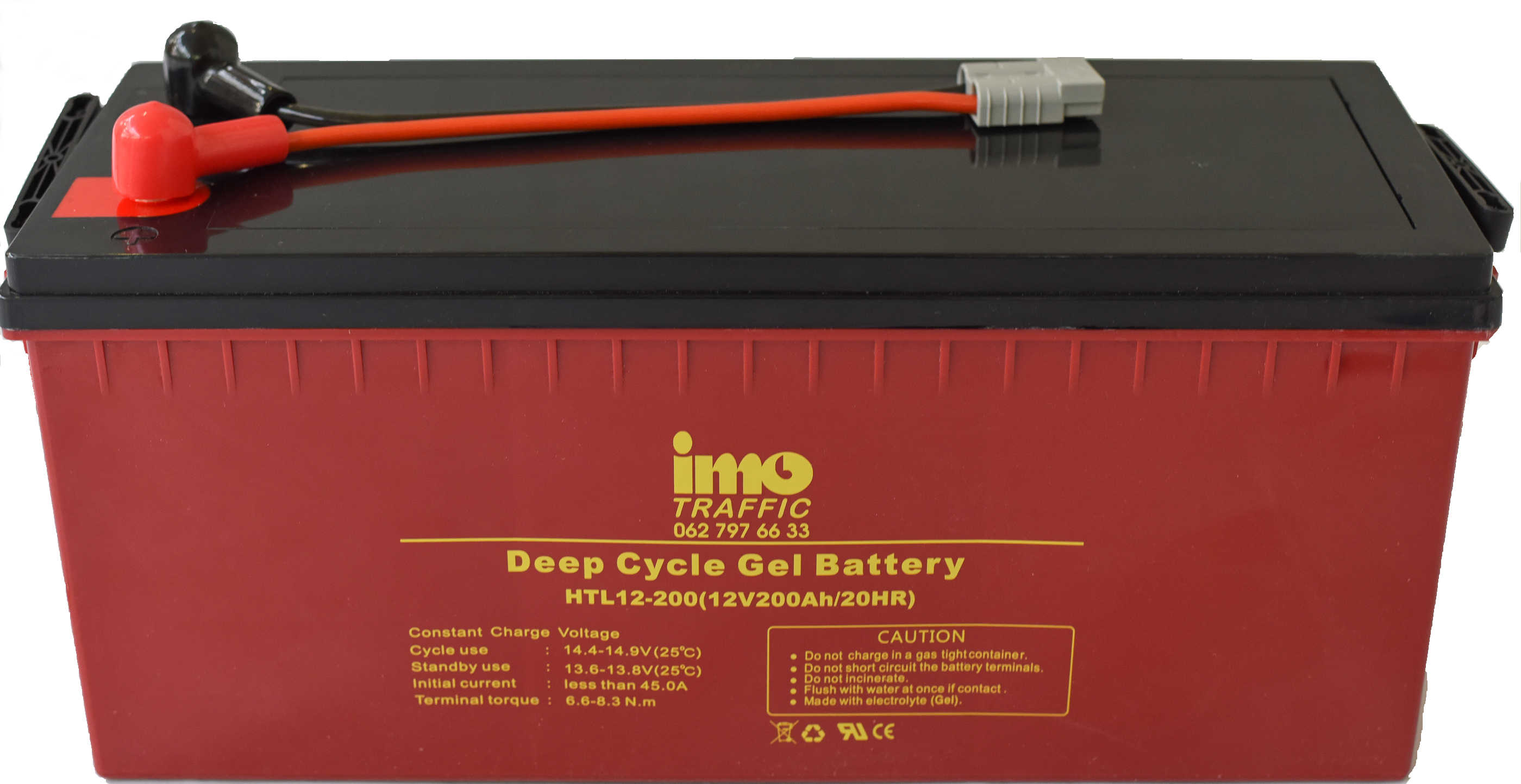 imo TRAFFIC Gel Batterie